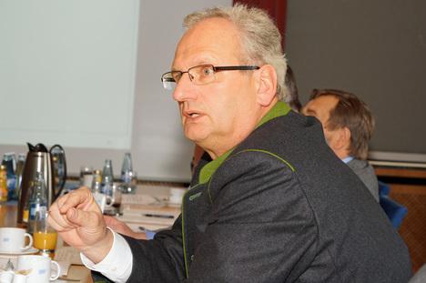 Bild:Hans Müller, Generalsekretär des bayerischen Bauernverbandes